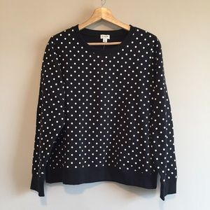 j crew factory | printed raglan sweatshirt